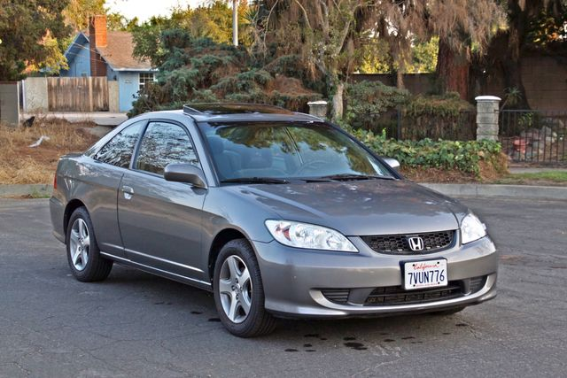 2005 Honda CIVIC EX COUPE SUNROOF AUTOMATIC ALLOY WHEELS SERVICE RECORDS Woodland Hills, CA 8