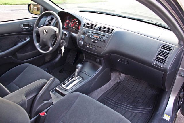 2005 Honda CIVIC EX COUPE SUNROOF AUTOMATIC ALLOY WHEELS SERVICE RECORDS Woodland Hills, CA 17