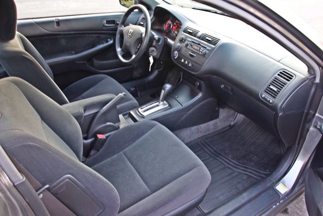 2005 Honda CIVIC EX COUPE SUNROOF AUTOMATIC ALLOY WHEELS SERVICE RECORDS Woodland Hills, CA 18