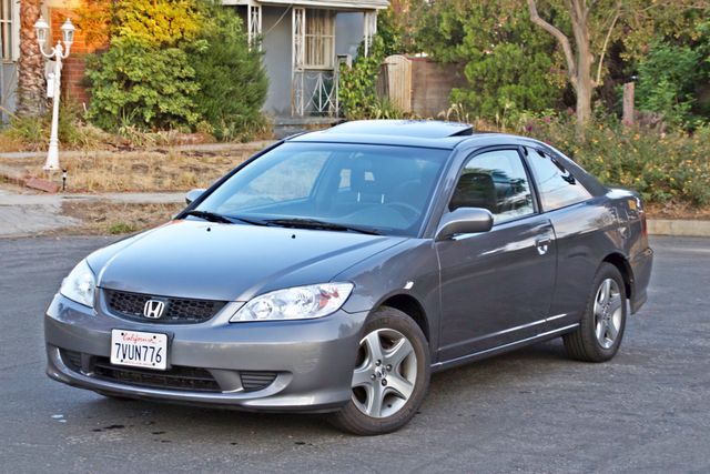 2005 Honda CIVIC EX COUPE SUNROOF AUTOMATIC ALLOY WHEELS SERVICE RECORDS Woodland Hills, CA 2