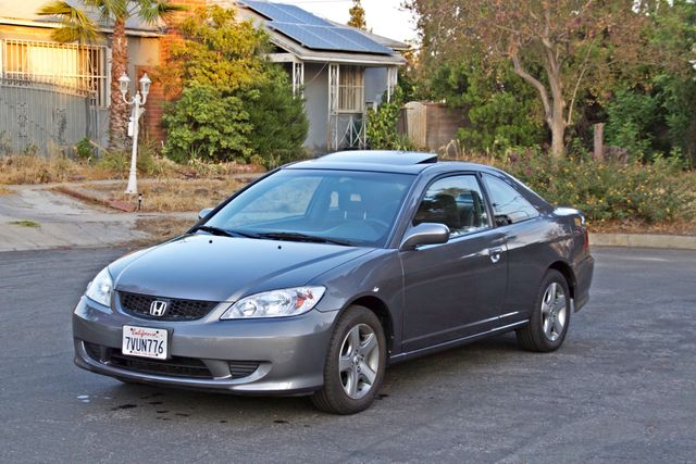 2005 Honda CIVIC EX COUPE SUNROOF AUTOMATIC ALLOY WHEELS SERVICE RECORDS Woodland Hills, CA 10