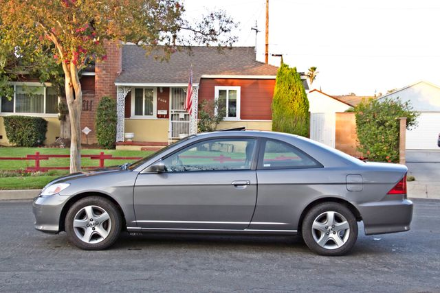 2005 Honda CIVIC EX COUPE SUNROOF AUTOMATIC ALLOY WHEELS SERVICE RECORDS Woodland Hills, CA 3