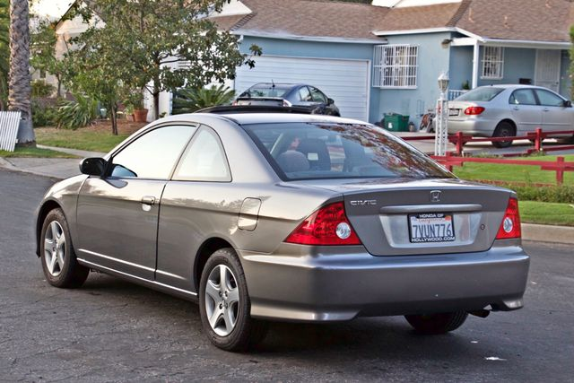 2005 Honda CIVIC EX COUPE SUNROOF AUTOMATIC ALLOY WHEELS SERVICE RECORDS Woodland Hills, CA 4