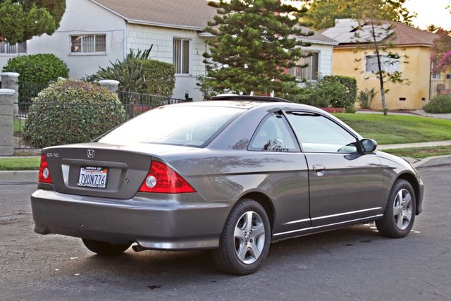 2005 Honda CIVIC EX COUPE SUNROOF AUTOMATIC ALLOY WHEELS SERVICE RECORDS Woodland Hills, CA 6