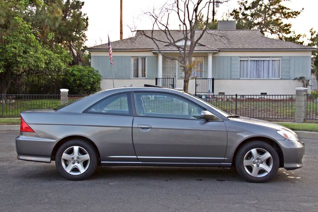 2005 Honda CIVIC EX COUPE SUNROOF AUTOMATIC ALLOY WHEELS SERVICE RECORDS Woodland Hills, CA 7