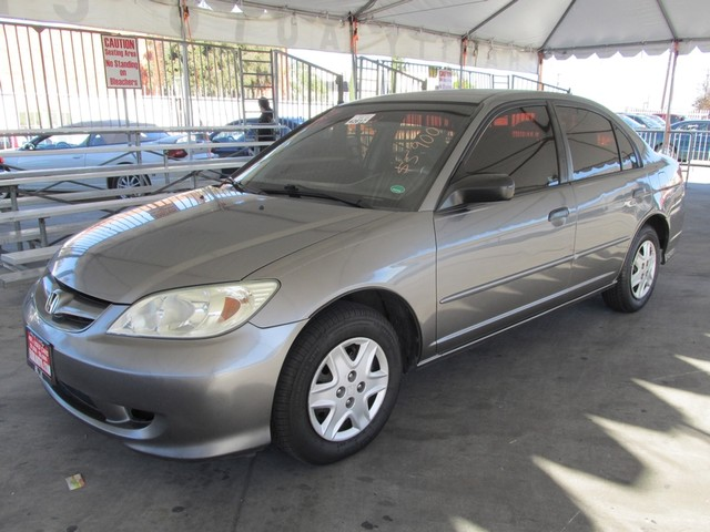 2005 Honda Civic VP Please call or e-mail to check availability All of our vehicles are availabl