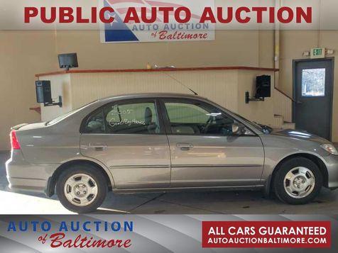 2005 Honda Civic    JOPPA, MD   Auto Auction of Baltimore  in JOPPA, MD