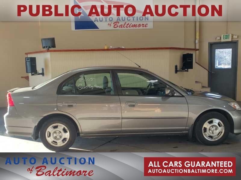 2005 Honda Civic    JOPPA, MD   Auto Auction of Baltimore  in JOPPA MD