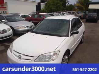 2005 Honda Civic LX Lake Worth , Florida
