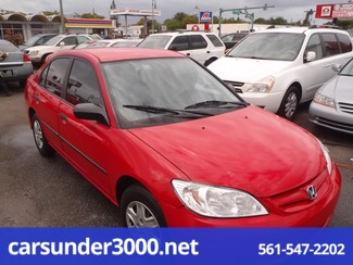 2005 Honda Civic VP Lake Worth , Florida 2