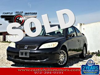 2005 Honda Civic EX | Lewisville, Texas | Castle Hills Motors in Lewisville Texas