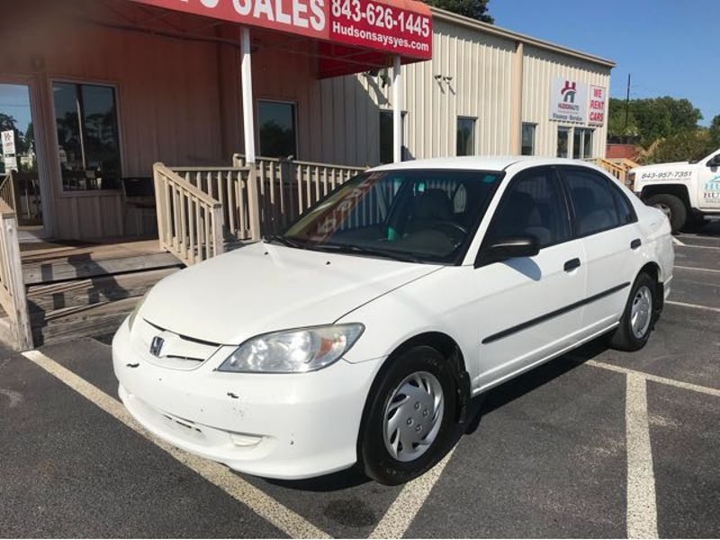 2005 Honda Civic VP | Myrtle Beach, South Carolina | Hudson Auto Sales in Myrtle Beach South Carolina