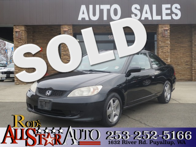 2005 Honda Civic EX The CARFAX Buy Back Guarantee that comes with this vehicle means that you can