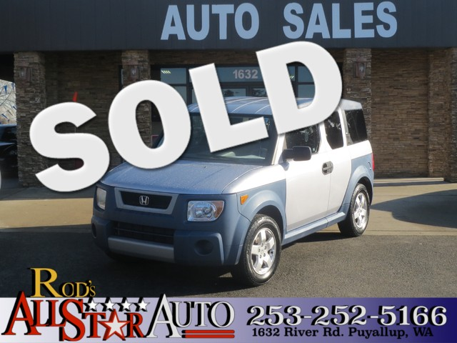 2005 Honda Element EX AWD The CARFAX Buy Back Guarantee that comes with this vehicle means that yo