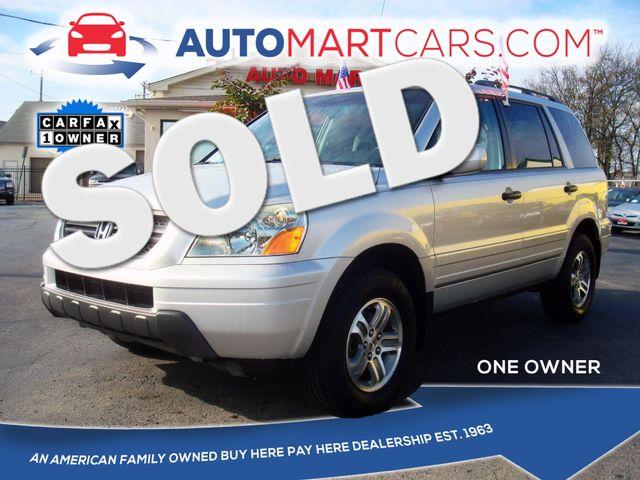 2005 Honda Pilot EX | Nashville, Tennessee | Auto Mart Used Cars Inc. in Nashville Tennessee