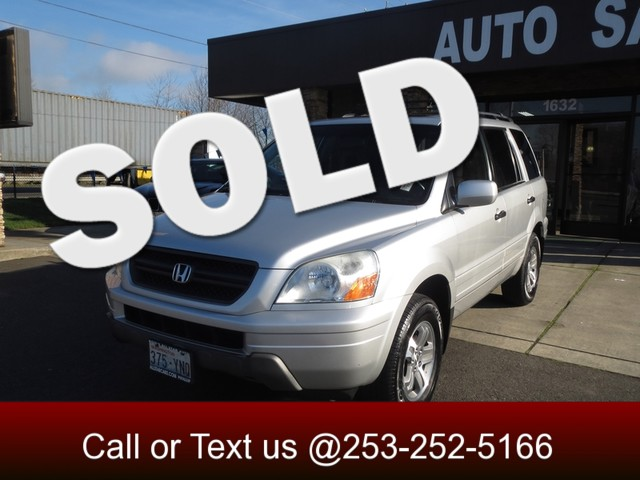 2005 Honda Pilot EX-L AWD The CARFAX Buy Back Guarantee that comes with this vehicle means that you
