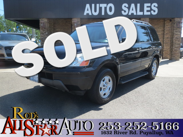 2005 Honda Pilot LX The CARFAX Buy Back Guarantee that comes with this vehicle means that you can