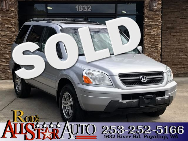 2005 Honda Pilot EX-L AWD The CARFAX Buy Back Guarantee that comes with this vehicle means that yo