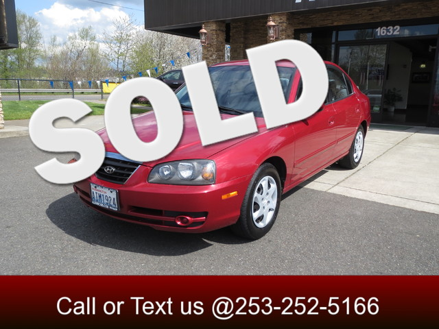 2005 Hyundai Elantra GLS The CARFAX Buy Back Guarantee that comes with this vehicle means that you
