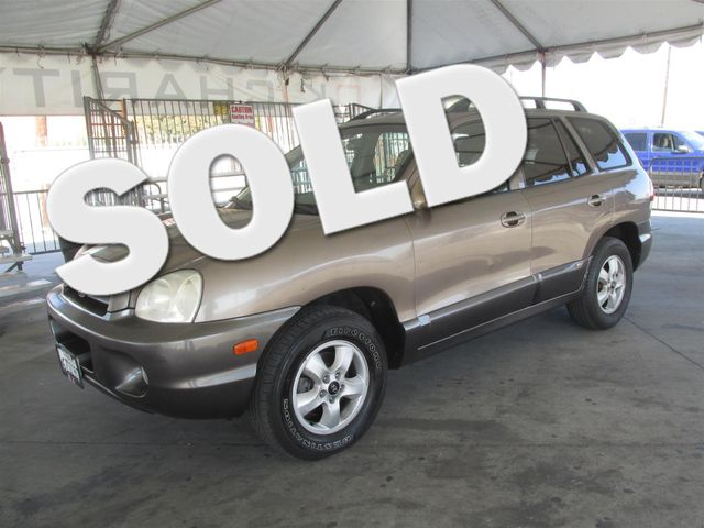 2005 Hyundai Santa Fe GLS This particular Vehicles true mileage is unknown TMU Please call or