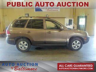 2005 Hyundai Santa Fe GLS   JOPPA, MD   Auto Auction of Baltimore  in Joppa MD