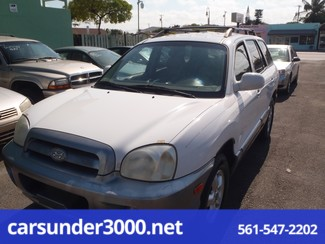 2005 Hyundai Santa Fe GLS Lake Worth , Florida 3