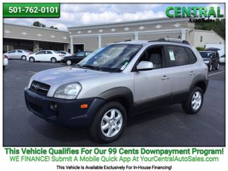 2005 Hyundai TUCSON/PW  | Hot Springs, AR | Central Auto Sales in Hot Springs AR