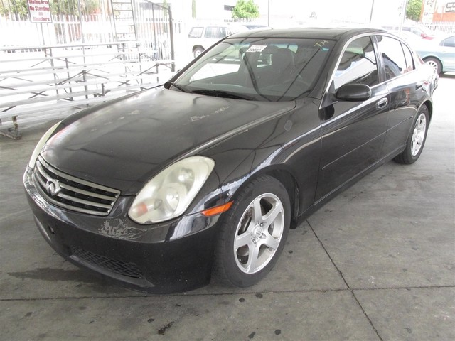 2005 Infiniti G35 Please call or e-mail to check availability All of our vehicles are available