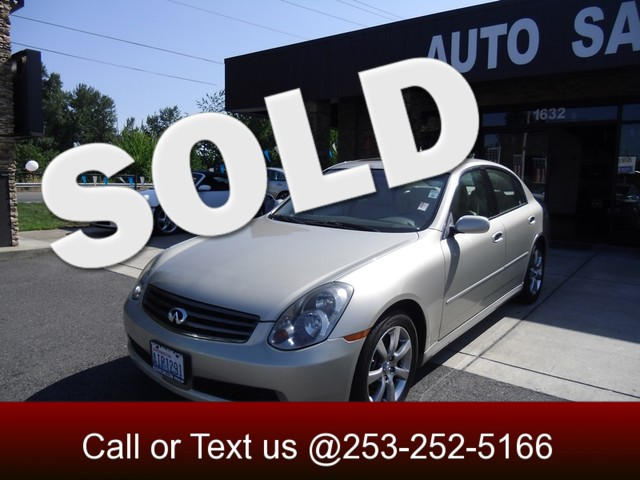 2005 Infiniti G35 If you have never owned a luxury car because of the crazy prices then take a lo