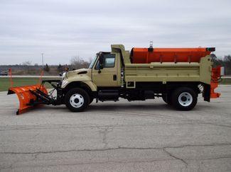 2005 International 7400 Snow Plow Dump Truck, 11', Dump with Spreader ., . 1