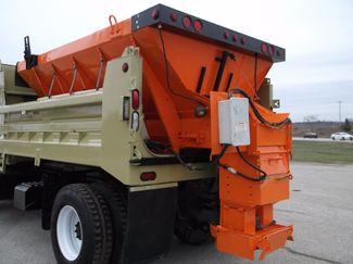 2005 International 7400 Snow Plow Dump Truck, 11', Dump with Spreader ., . 15