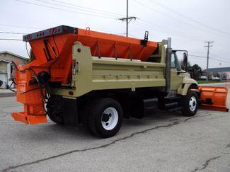 2005 International 7400 Snow Plow Dump Truck, 11', Dump with Spreader ., . 4