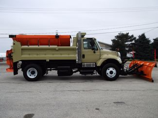2005 International 7400 Snow Plow Dump Truck, 11', Dump with Spreader ., . 5