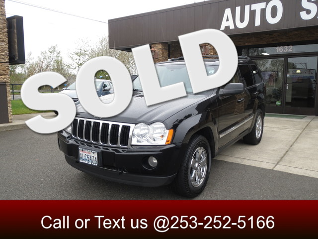 2005 Jeep Grand Cherokee Limited 57L 4WD The CARFAX Buy Back Guarantee that comes with this vehic