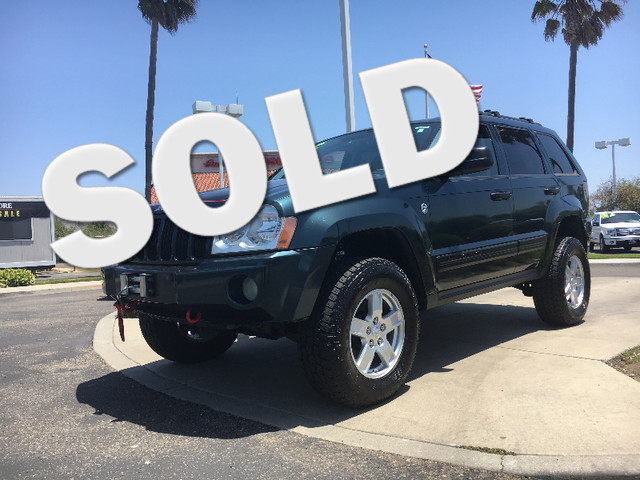 2005 Jeep Grand Cherokee Laredo Relax knowing you have the power and towing capacity you need with