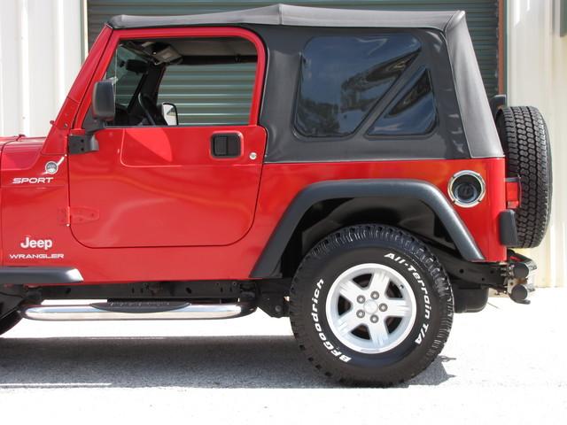 2005 Jeep Wrangler Sport Jacksonville , FL 8
