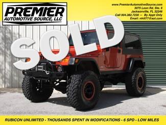 2005 Jeep Wrangler Unlimited Rubicon LJ Jacksonville , FL