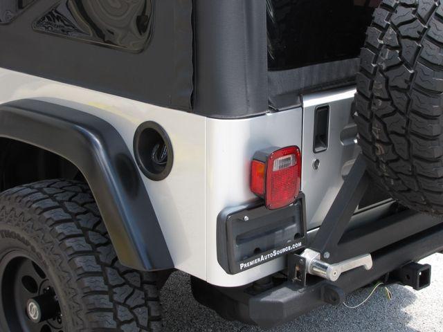 2005 Jeep Wrangler Unlimited Rubicon LJ Jacksonville , FL 21