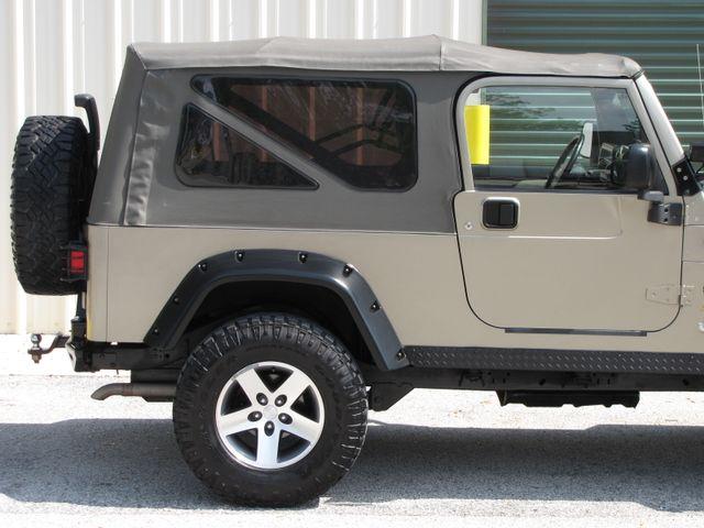2005 Jeep Wrangler Unlimited Rubicon Sahara Jacksonville , FL 9