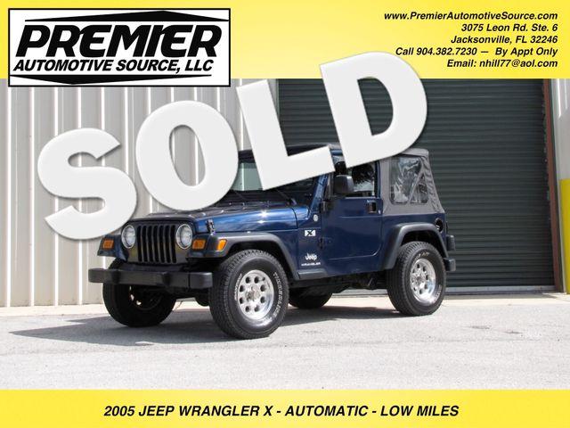 2005 Jeep Wrangler X Jacksonville , FL 0