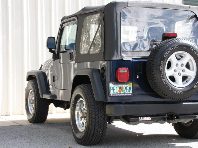 2005 Jeep Wrangler X Jacksonville , FL 18