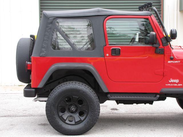 2005 Jeep Wrangler Sport Jacksonville , FL 11