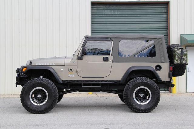 2005 Jeep Wrangler Rubicon Sahara Unlimited LJ Jacksonville , FL 5