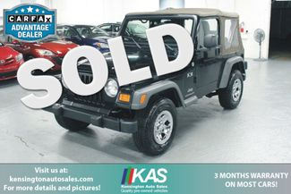 2005 Jeep Wrangler X 4X4 Kensington, Maryland