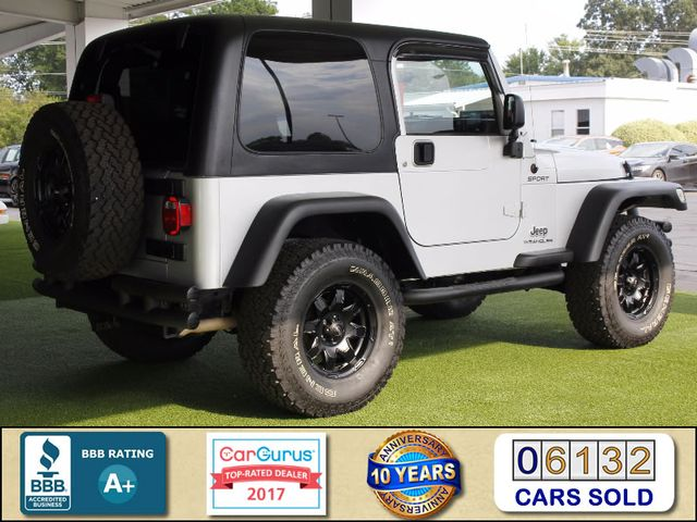 2005 Jeep Wrangler Sport 4X4 - TONS OF EXTRA$! Mooresville , NC 2