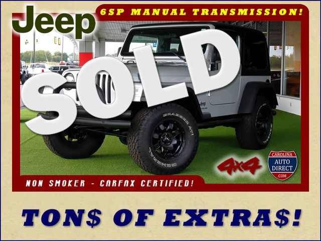 2005 Jeep Wrangler Sport 4X4 - TONS OF EXTRA$! Mooresville , NC 0