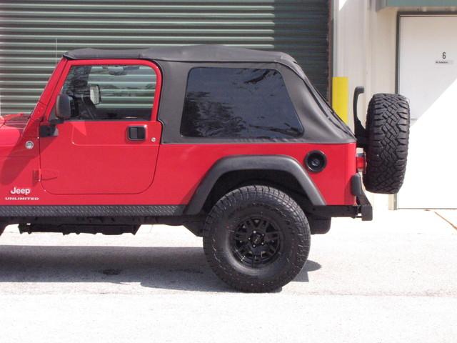 2005 Jeep Wrangler Unlimited Rubicon LJ Jacksonville , FL 6