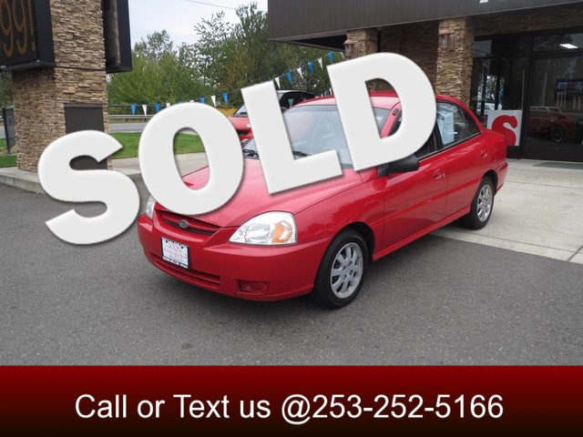 2005 Kia Rio The CARFAX Buy Back Guarantee that comes with this vehicle means that you can buy wit