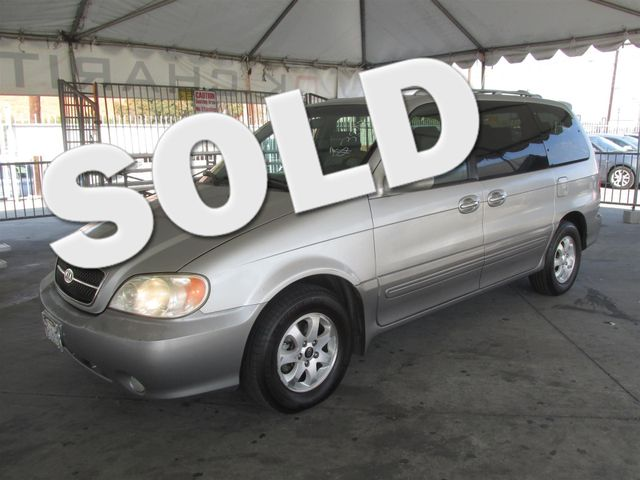 2005 Kia Sedona EX This particular Vehicle comes with 3rd Row Seat Please call or e-mail to check