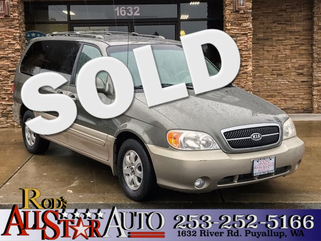 2005 Kia Sedona EX The CARFAX Buy Back Guarantee that comes with this vehicle means that you can b